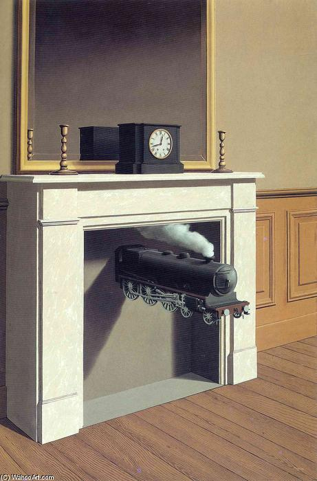 | Zeit gebannt von Rene Magritte | Most-Famous-Paintings.com