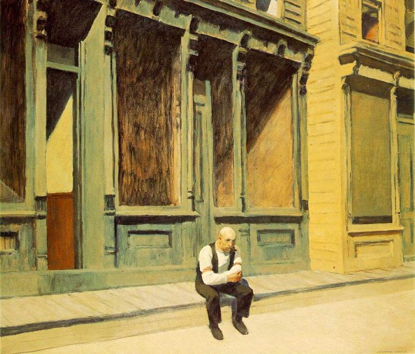 | sonntag von Edward Hopper | Most-Famous-Paintings.com