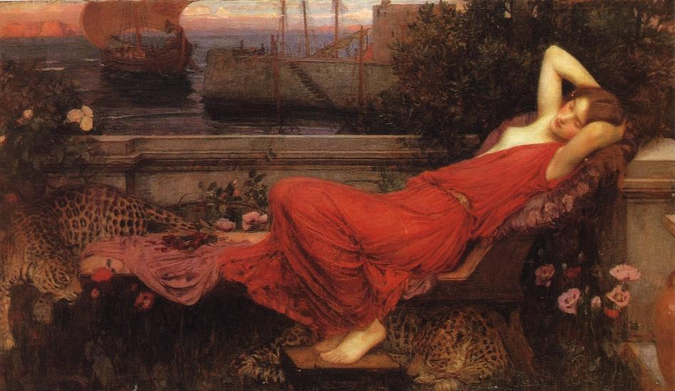 Bestellen Kunstreproduktionen | Ariadne von John William Waterhouse | Most-Famous-Paintings.com