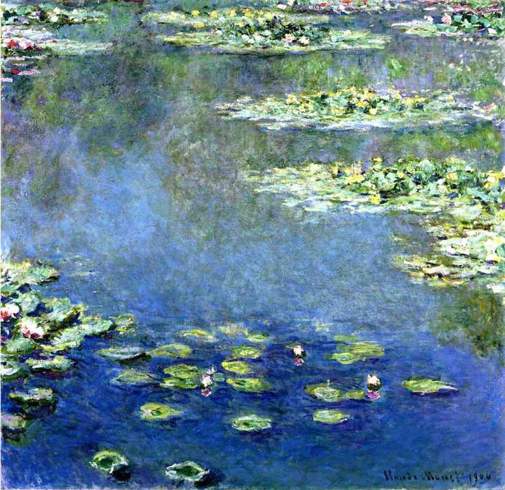 Bestellen Museumsqualität Prints | wasserlilien von Claude Monet | Most-Famous-Paintings.com