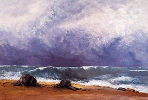 Gustave Courbet - der welle