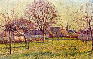 Maximilien Luce - The Orchard bei Eragny