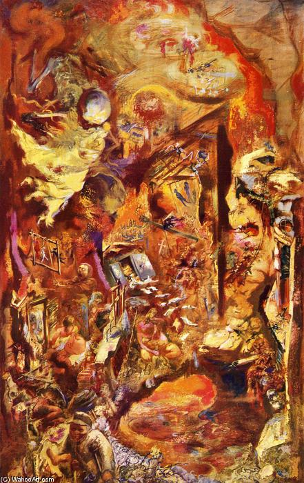 | Die Grube von George Grosz | Most-Famous-Paintings.com