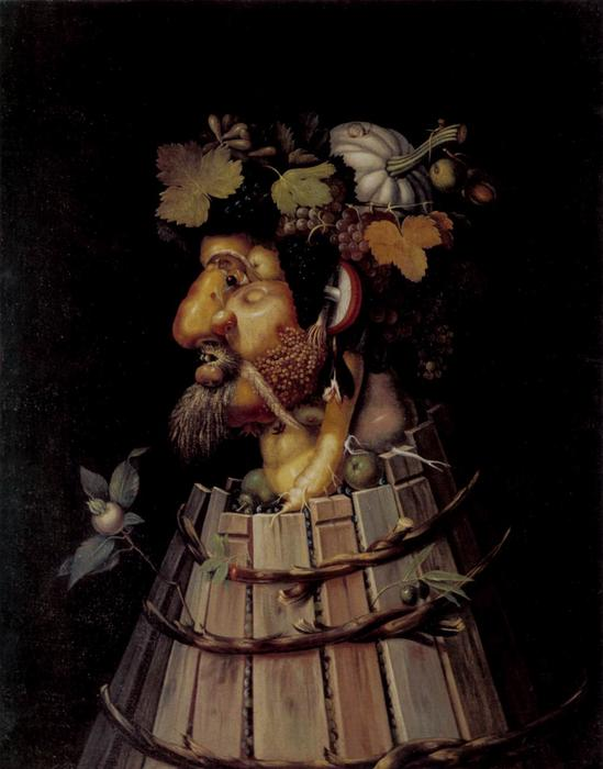 famous painting Herbst of Giuseppe Arcimboldo