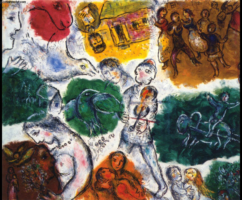 | Abfassung von Marc Chagall | Most-Famous-Paintings.com