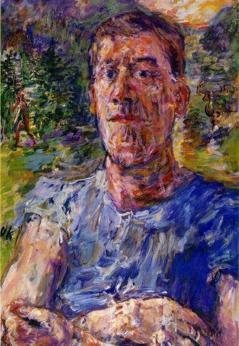 | Self-portrait von a 'Degenerate Artist' von Oskar Kokoschka | Most-Famous-Paintings.com