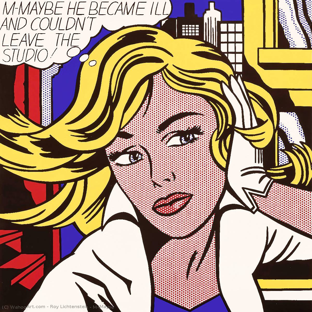 | M-Maybe von Roy Lichtenstein | Most-Famous-Paintings.com
