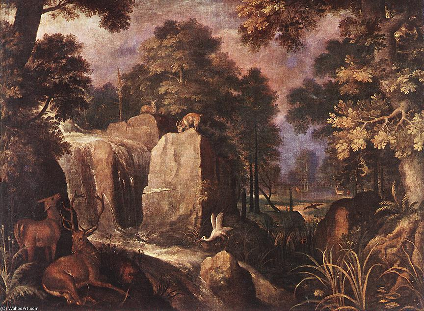 famous painting steinig landschaft of Roelandt Savery