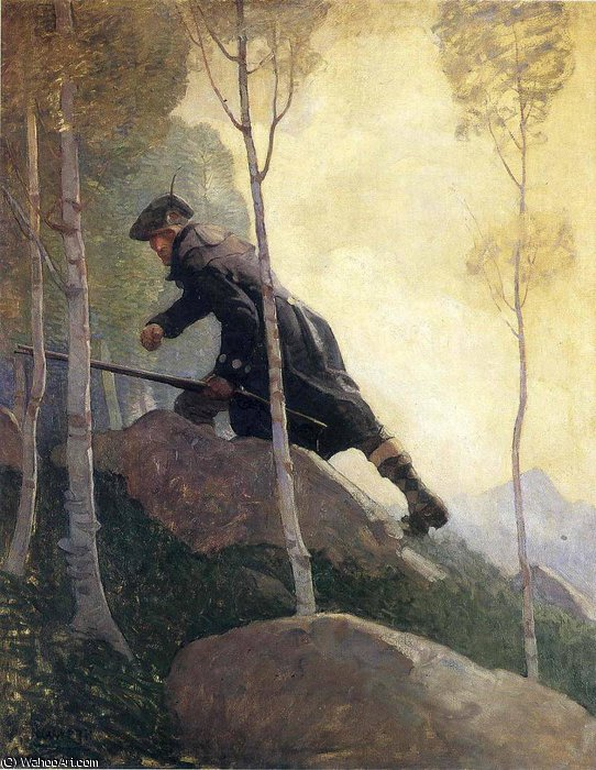 famous painting ohne titel 8116   of Nc Wyeth