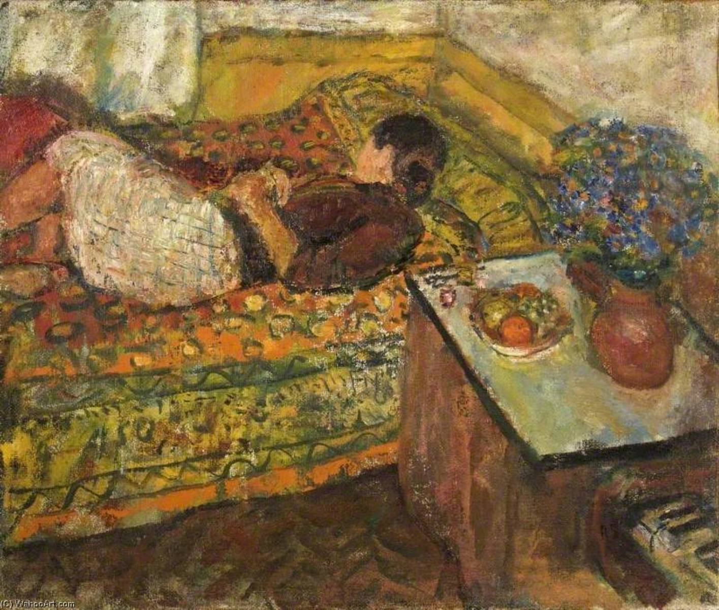 | Siesta von Ruskin Spear | Most-Famous-Paintings.com